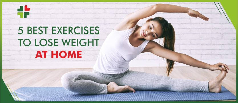 5 Best Exercises to Lose Weight at Home