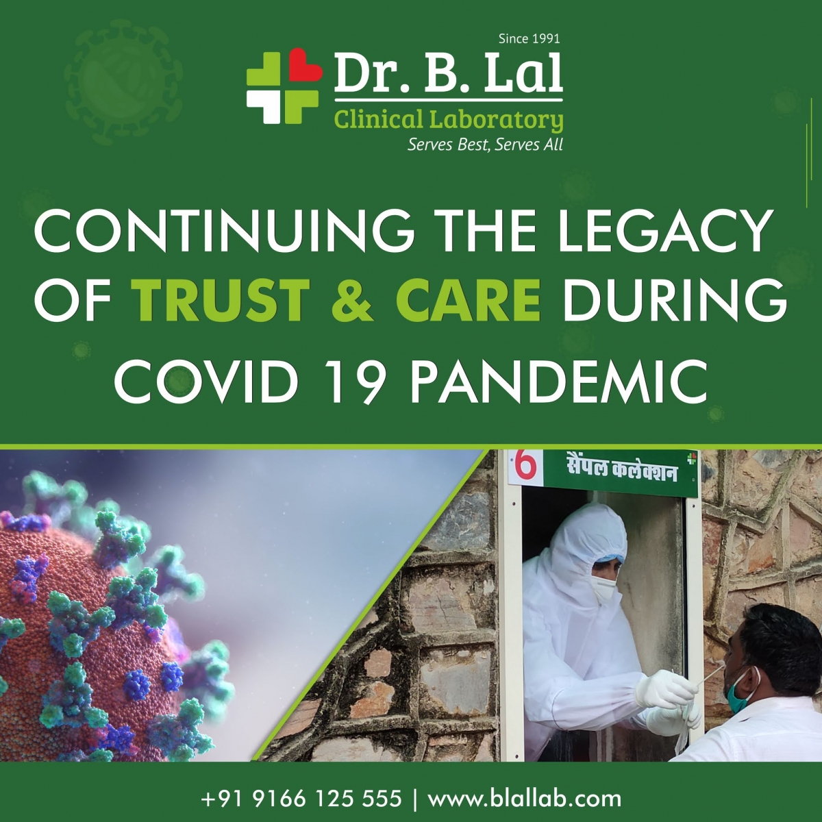 Our Covid-19 Journey   Dr. B. Lal Clinical Laboratory