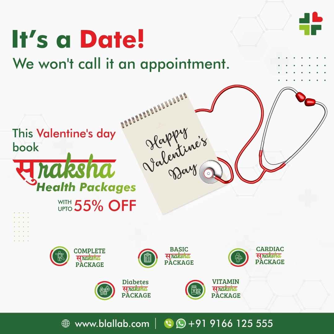 It's a Date! |Suraksha Health Packages with upto 55% off