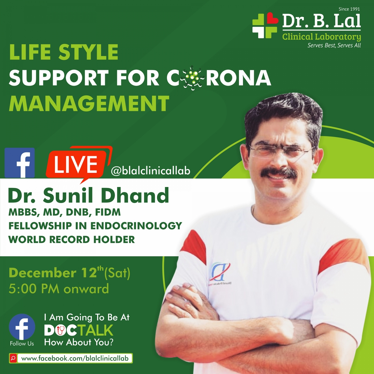 #DocTalk | Lifestyle support for corona management with Dr. Sunil Dhand, Jaipur, Rajasthan