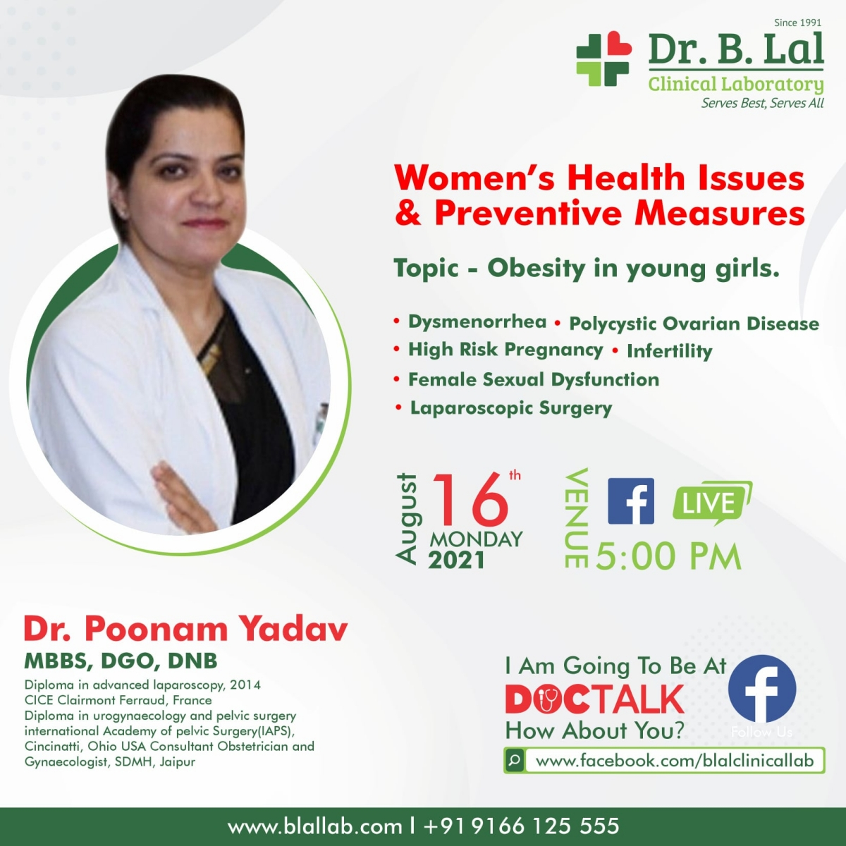 DocTalk   Obesity in Young Girls