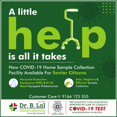 COVID-19 RT PCR TEST Free Home Sample Collection for Senior Citizens!