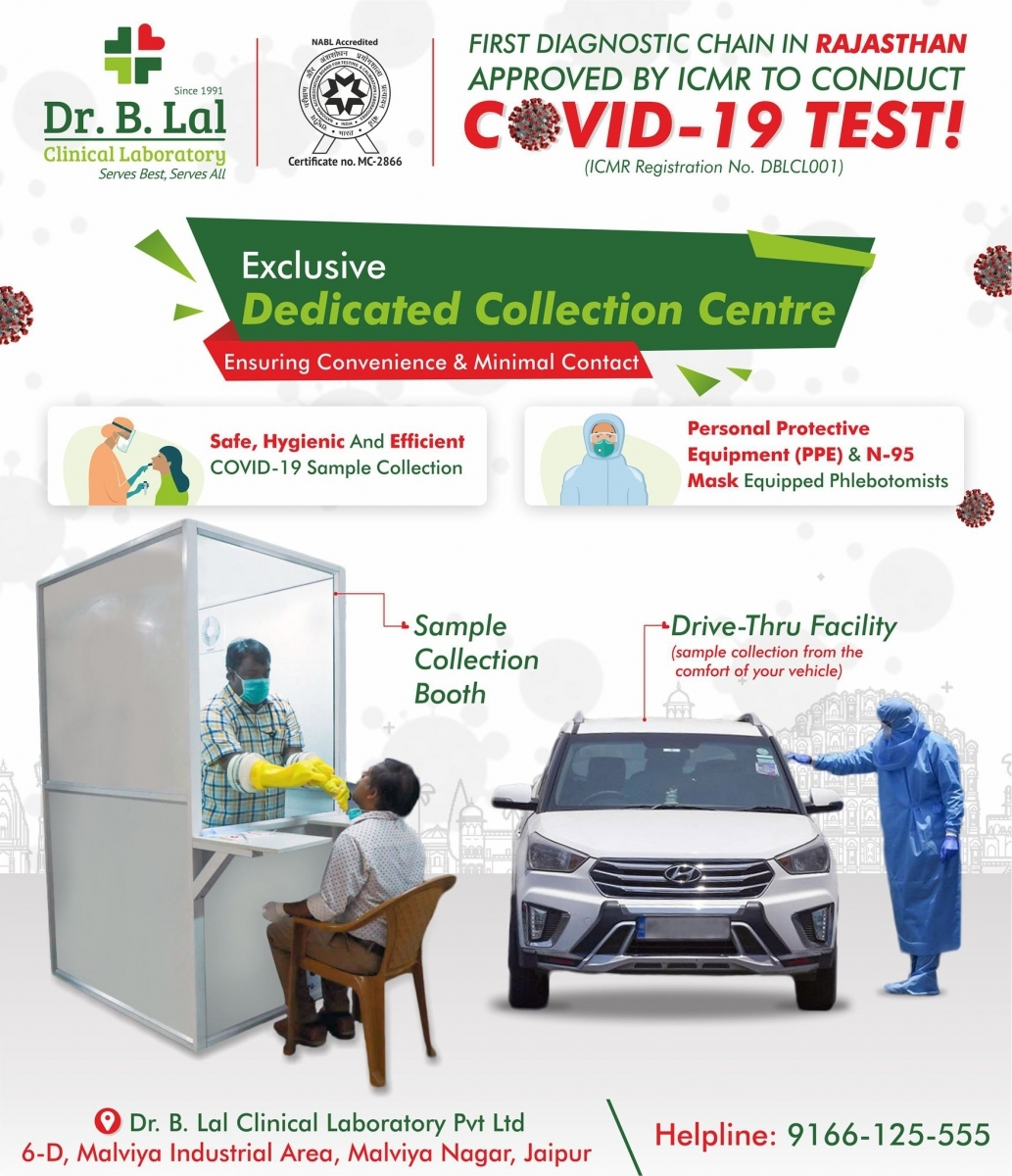 COVID-19 Testing at Dr. B. Lal Clinical Laboratory | Drive-Thru and Walk-in Facility