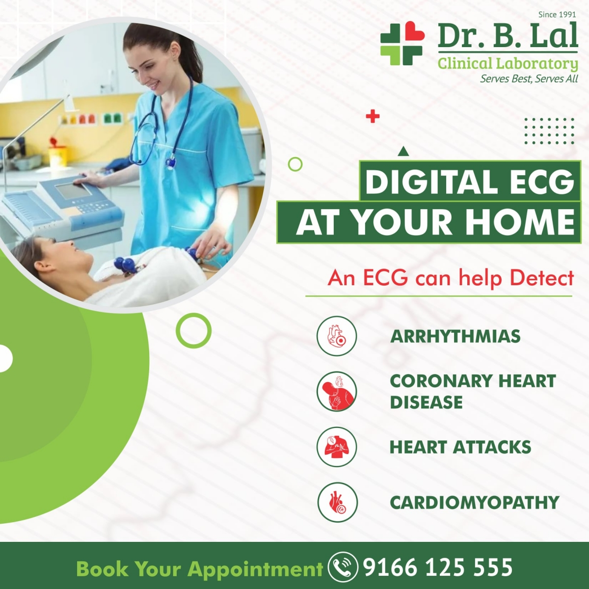 Book Your ECG @ Home Now