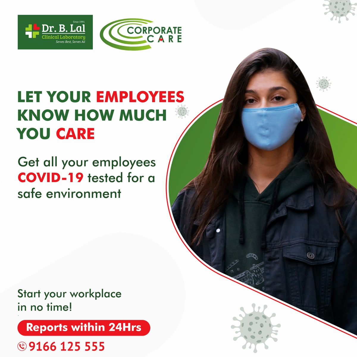 Workplace Wellness | COVID-19 Testing for Corporate Offices | Jaipur