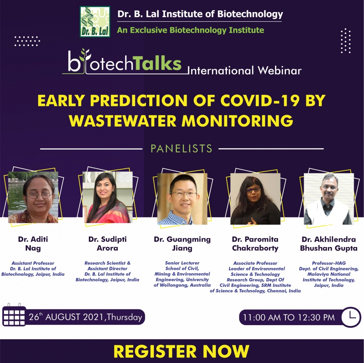 Early Prediction of Covid-19 by Wastewater Monitoring