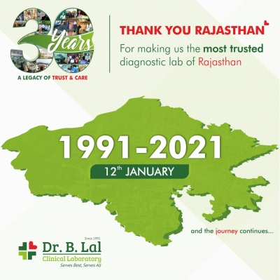 Thank You Rajasthan! | #30YearsOfTrustAndCare