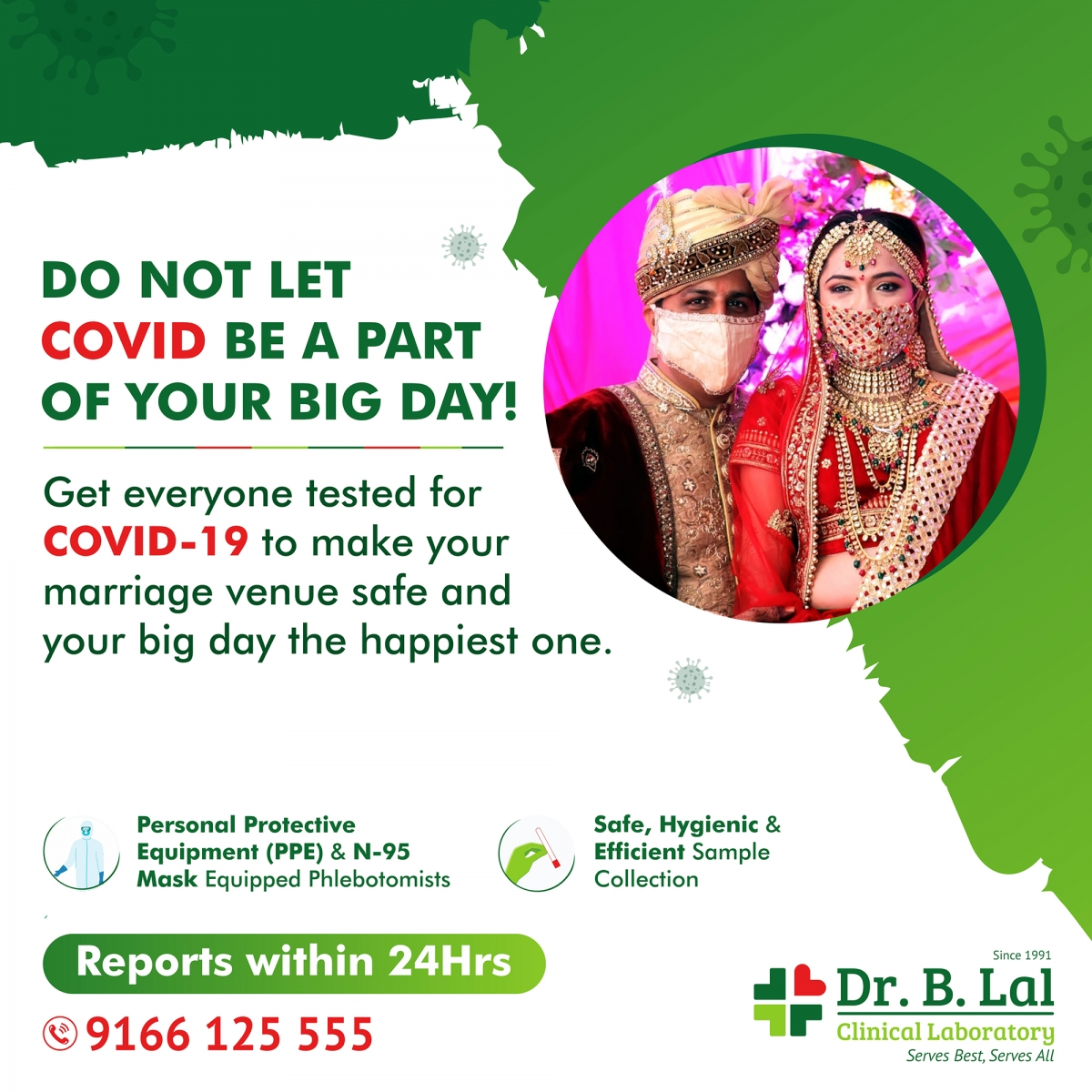 Covid-19 (Coronavirus) Testing for Wedding Venues in Jaipur, Rajasthan