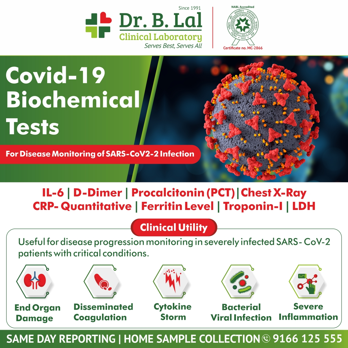COVID-19 Biochemical Tests in Rajasthan | www.blallab.com