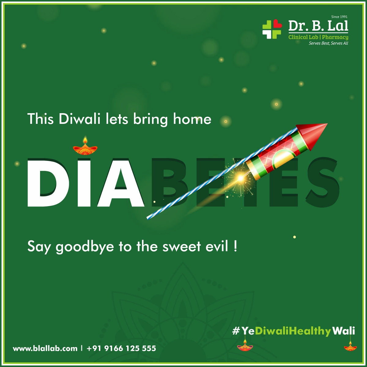 #YeDiwaliHealthyWali | Diabetes Suraksha Subscription